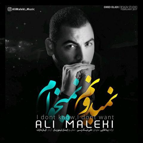 علی ملکی-نمیدونم نمیخوام
