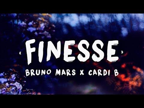دانلود آهنگ bruno mars and cardi b به نام finesse