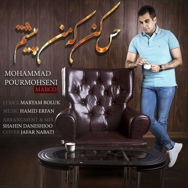 محمد پورمحسنی به نام حس کن که من پیشتم