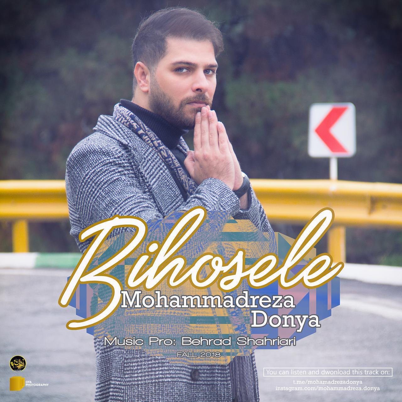 محمدرضا دنیا به نام بی حوصله