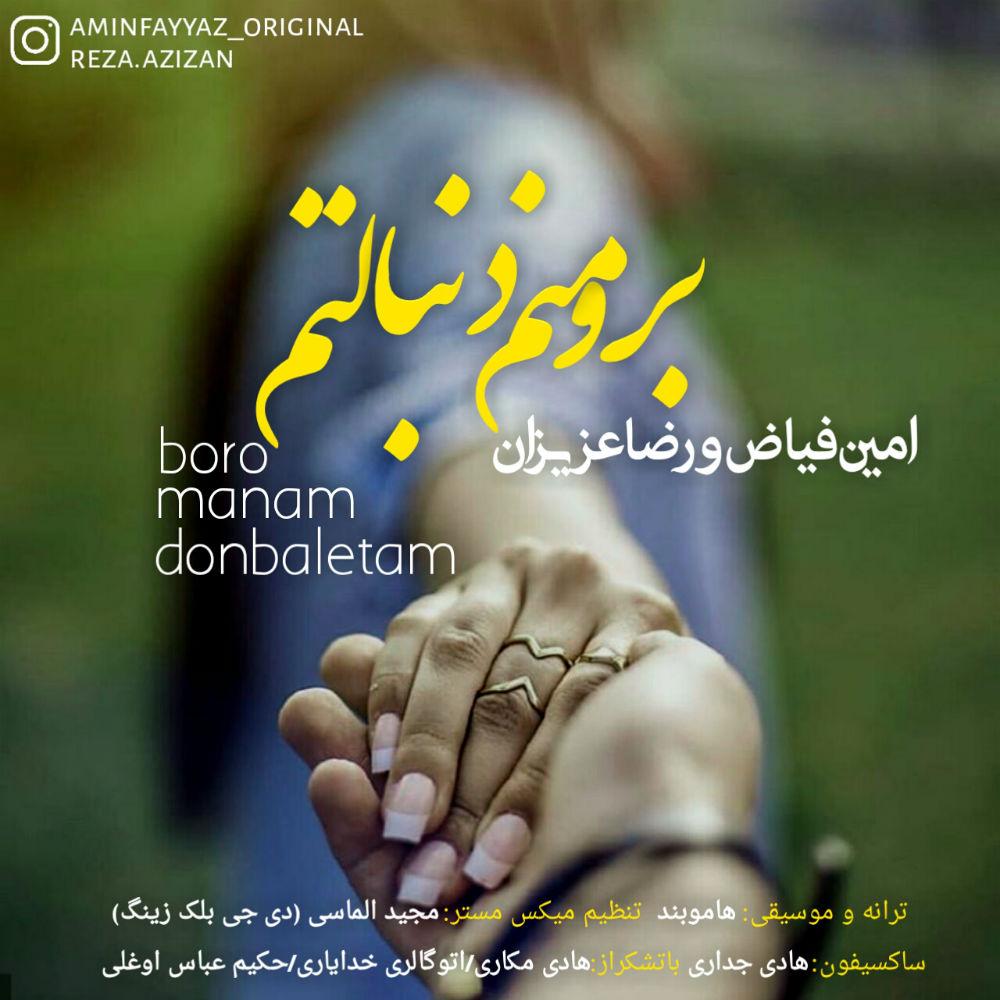 رضا عزیزان و امین فیاض به نام برو منم دنبالتم